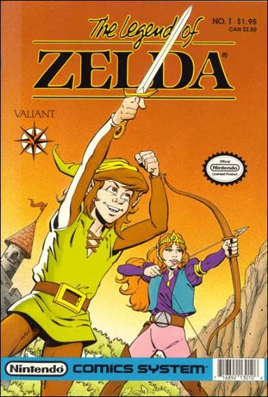 The Legend of Zelda (1990) 1-A by Valiant
