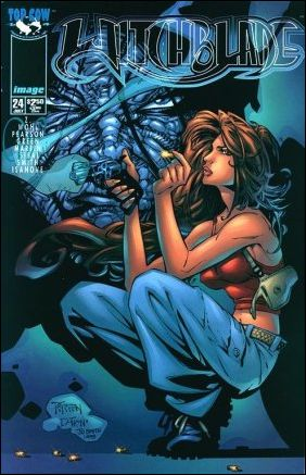 Witchblade 24-B by Top Cow