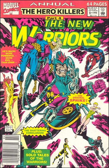 New Warriors Annual 2-A by Marvel