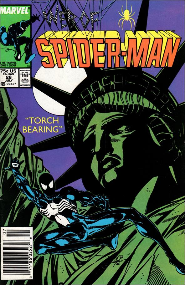 Web of Spider-Man (1985) 28-A by Marvel