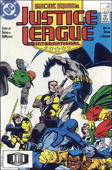 Justice League International (1987) 13-A by DC