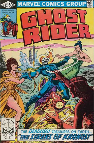 Ghost Rider (1973) 52-A by Marvel