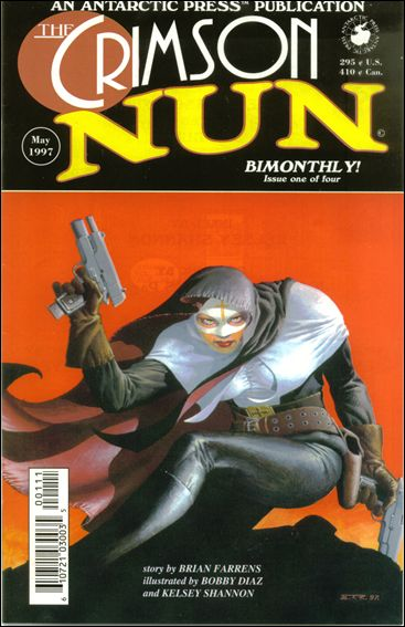 Crimson Nun 1-A by Antarctic Press