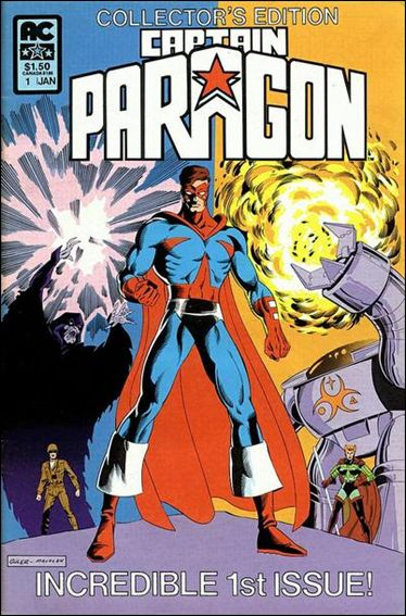 Captain Paragon 1-A by AC