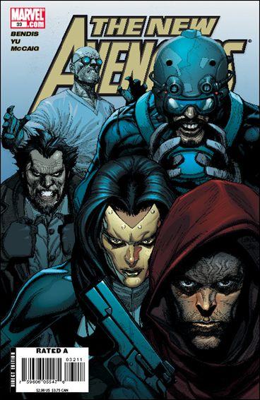 New Avengers (2005) 33-A by Marvel