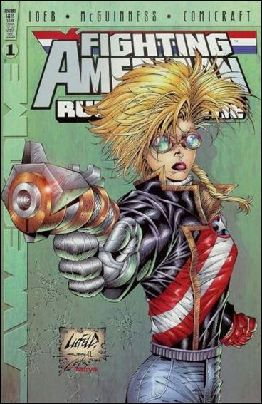 Fighting American: Rules of the Game 1-C by Awesome