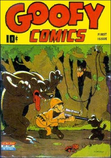 Goofy Comics 1-A by Nedor