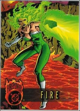 OutBurst: DC FirePower (Base Set) 7-A by Fleer/SkyBox