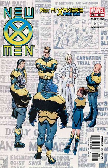New X-Men (2001) 135-A by Marvel