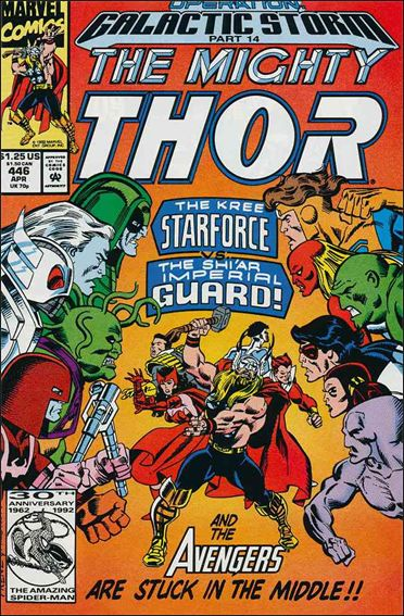 Thor (1966) 446-A by Marvel
