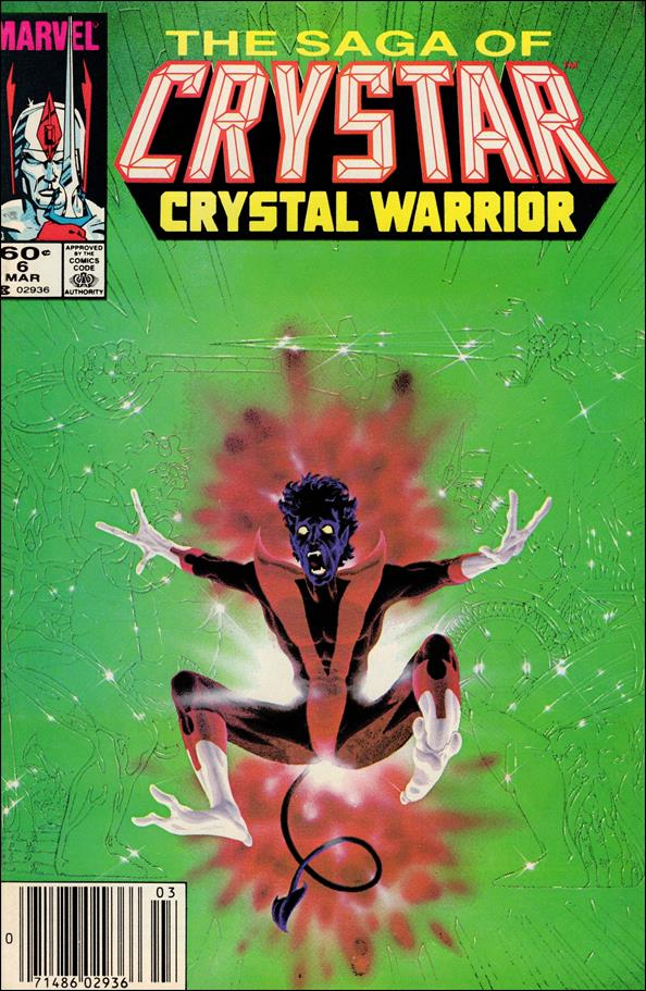 Saga of Crystar Crystal Warrior 6-A by Marvel