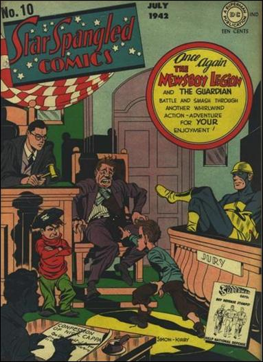 Star Spangled Comics (1941) 10-A by DC