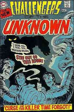 Challengers of the Unknown (1958) 73-A by DC