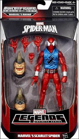 Marvel Legends Infinite: Spider-Man (Rhino Series)  Marvel's Scarlet Spider