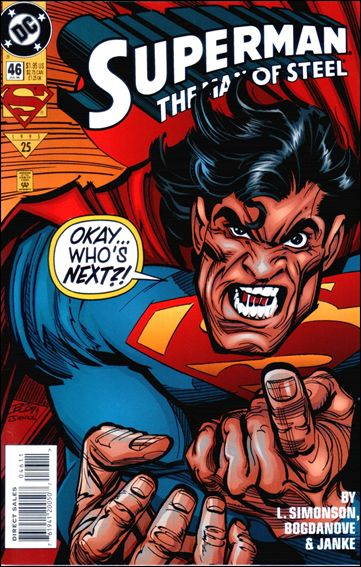 Superman: The Man of Steel 46-A by DC