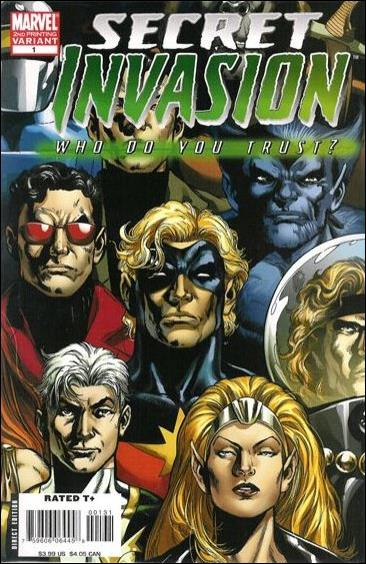 Secret Invasion: Who Do You Trust? 1-C by Marvel