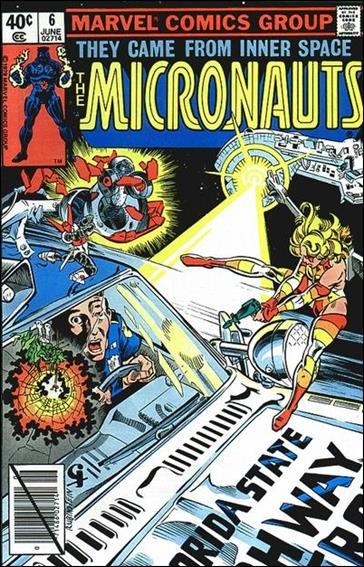 Micronauts (1979) 6-A by Marvel
