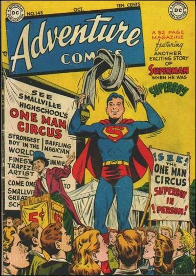 Adventure Comics (1938) 145-A by DC