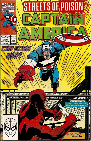 Captain America (1968) 375-A by Marvel