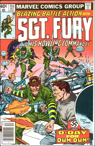 Sgt. Fury and His Howling Commandos 155-A by Marvel