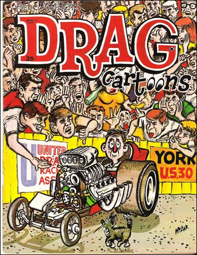 Drag Cartoons (1963) 14-A by Millar