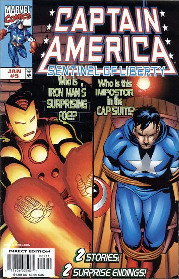 Captain America: Sentinel of Liberty 5-A by Marvel