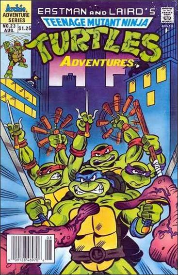 Teenage Mutant Ninja Turtles Adventures (1989) 23-A by Archie