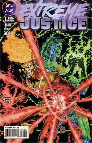 Extreme Justice 8-A by DC