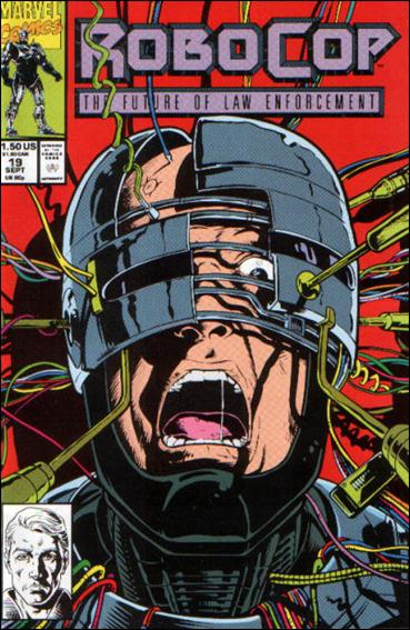 Robocop (1990) 19-A by Marvel