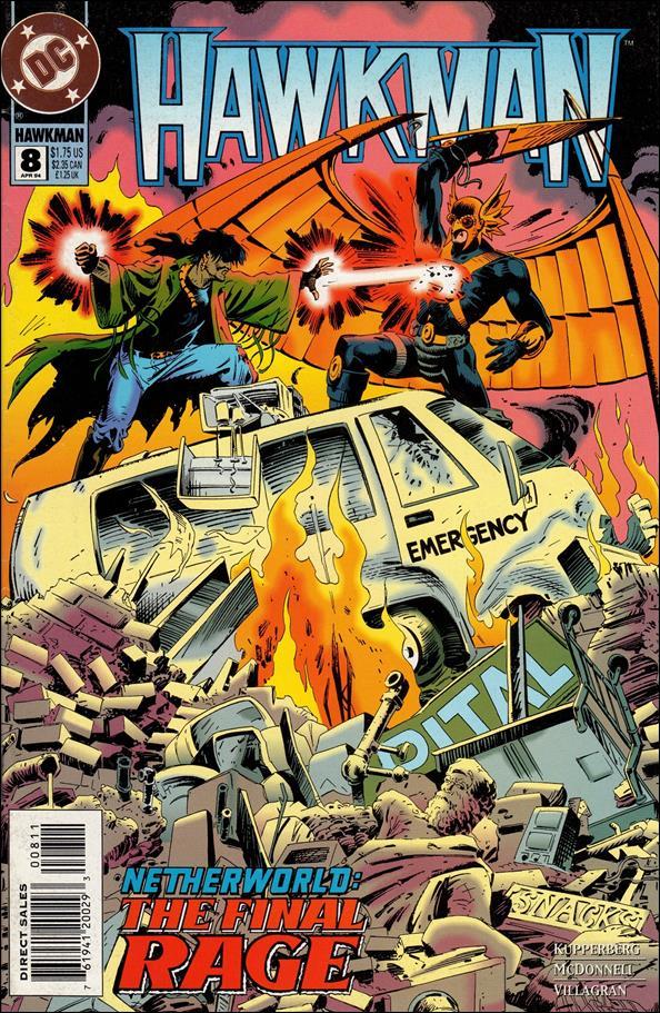 Hawkman (1993) 8-A by DC