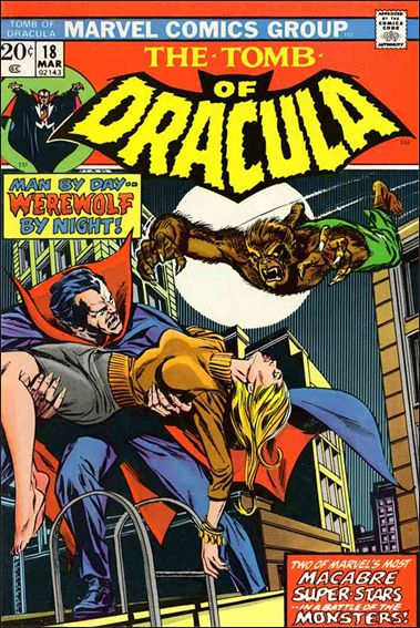 Tomb of Dracula (1972) 18-A by Marvel