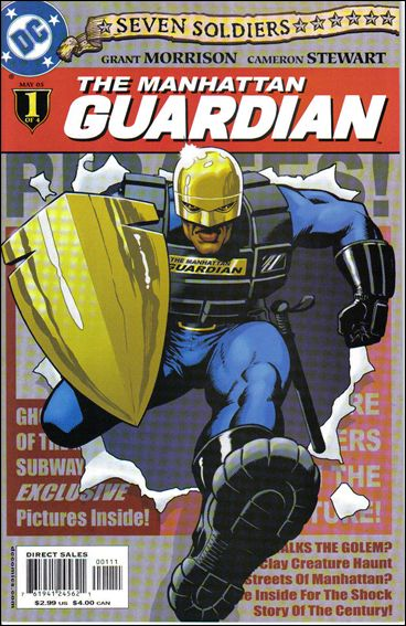 Seven Soldiers: Guardian 1-A by DC