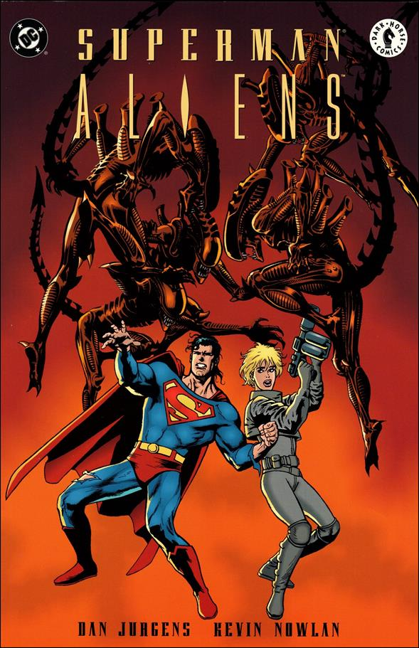 Superman vs Aliens 2-A by Dark Horse