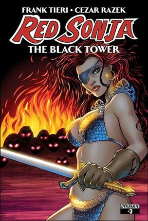Red Sonja: The Black Tower 3-A