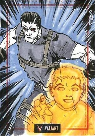 2013 Valiant Comics Preview Trading Card Set (Sketch Card Subset) JSo-04-A