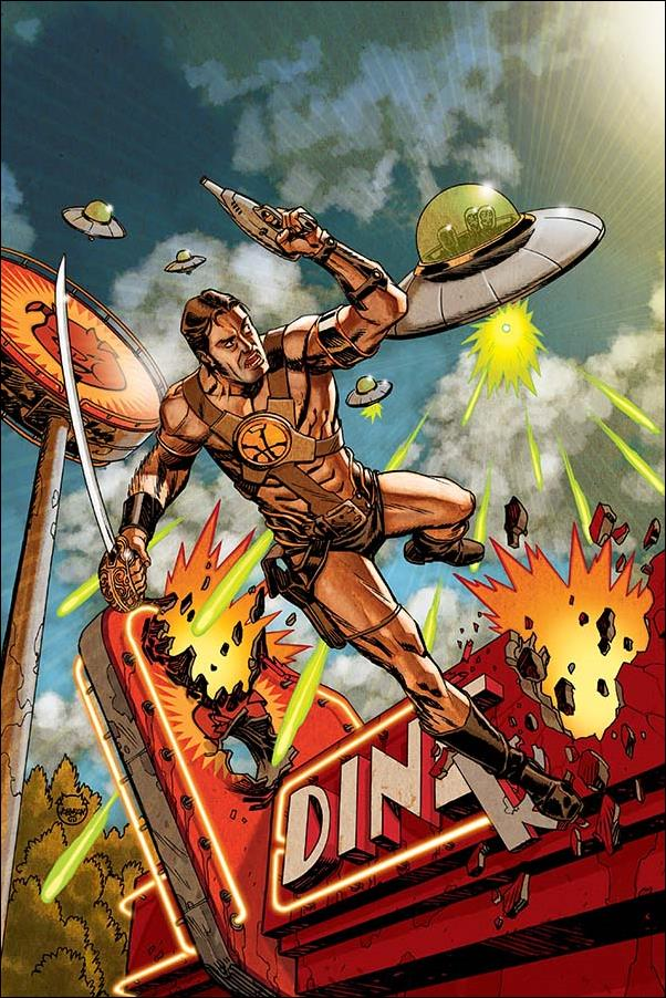 Warlord of Mars Attacks 3-G by Dynamite Entertainment