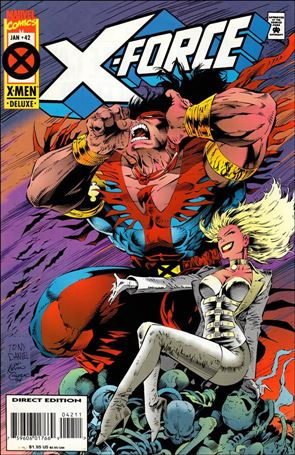 X-Force (1991) 42-A