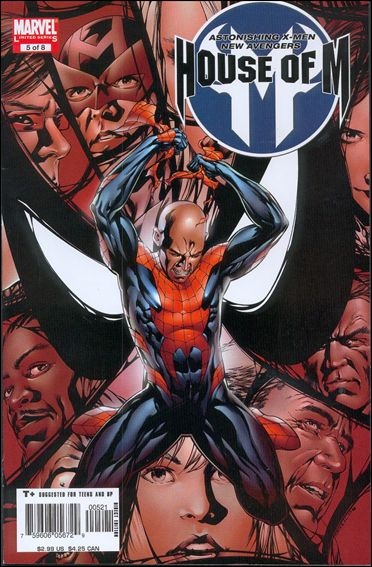 House of M (2005) 5-B by Marvel