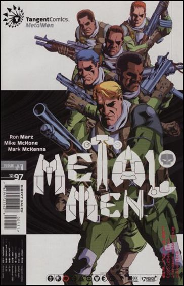 Tangent Comics/Metal Men 1-A by Tangent Comics