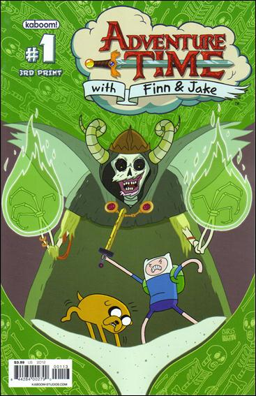 Adventure Time 1-H by Kaboom!