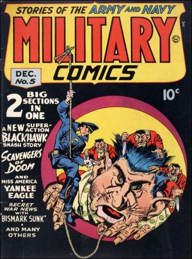 Military Comics 5-A by Comic Magazines