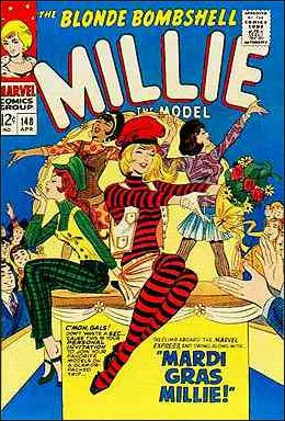 Millie the Model Comics 148-A by Marvel