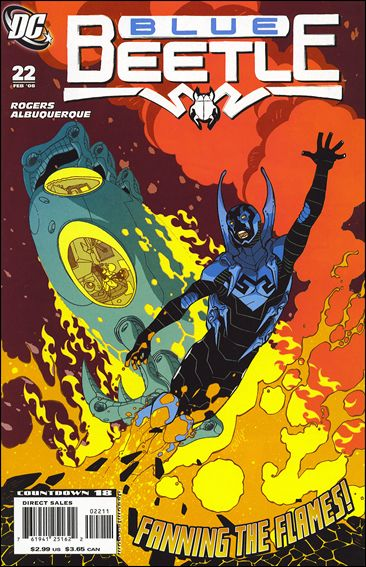 Blue Beetle (2006) 22-A by DC