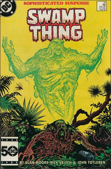 Saga of the Swamp Thing 37-A by DC