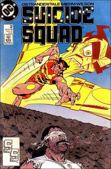 Suicide Squad (1987) 32-A by DC