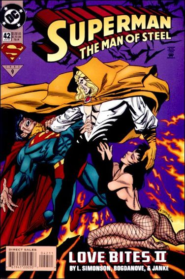 Superman: The Man of Steel 42-A by DC