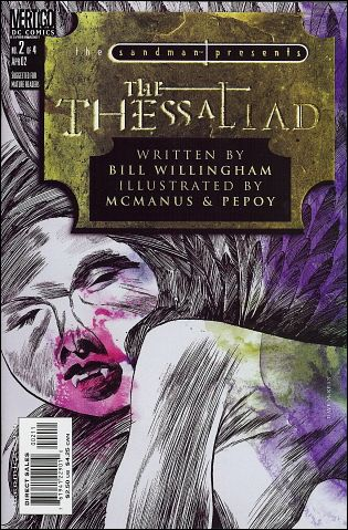 Sandman Presents: The Thessaliad 2-A by Vertigo