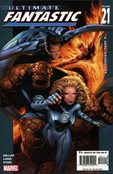 Ultimate Fantastic Four 21-A by Marvel