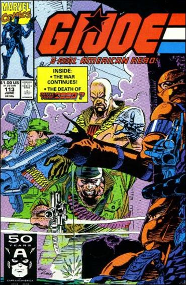 G.I. Joe: A Real American Hero 113-A by IDW