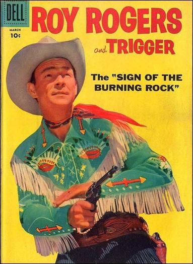 Roy Rogers Comics 123-A by Dell
